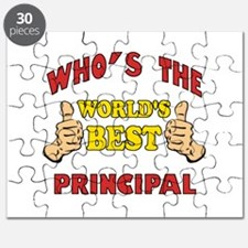 World's Best Principal (Thumbs Up) Puzzle