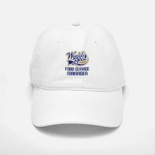 Food Service Manager (Worlds Best) Baseball Baseball Cap