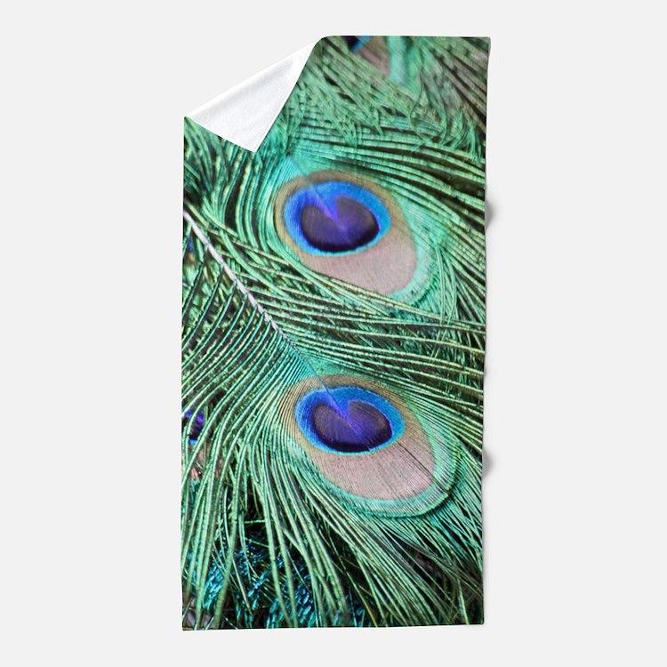 Peacock feather bathroom accessories amp decor cafepress