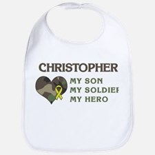 Christopher: My Hero Bib