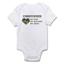 Christopher: My Hero Infant Bodysuit