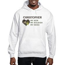 Christopher: My Hero Hoodie Sweatshirt
