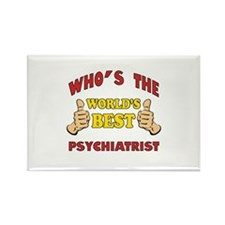 World's Best Psychiatrist (Thumbs Up) Rectangle Ma