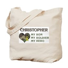 Christopher: My Hero Tote Bag