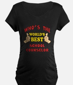 World's Best School Counselor (Thumbs Up) Maternit