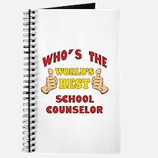 World's Best School Counselor (Thumbs Up) Journal