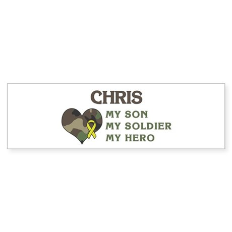 Chris: My Hero Bumper Sticker