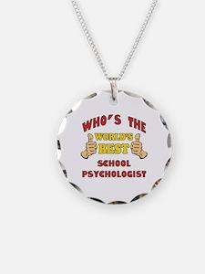 World's Best School Psychologist (Thumbs Up) Neckl