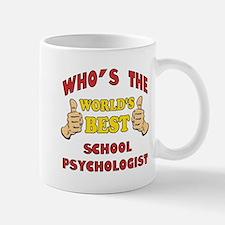 World's Best School Psychologist (Thumbs Up) Mug