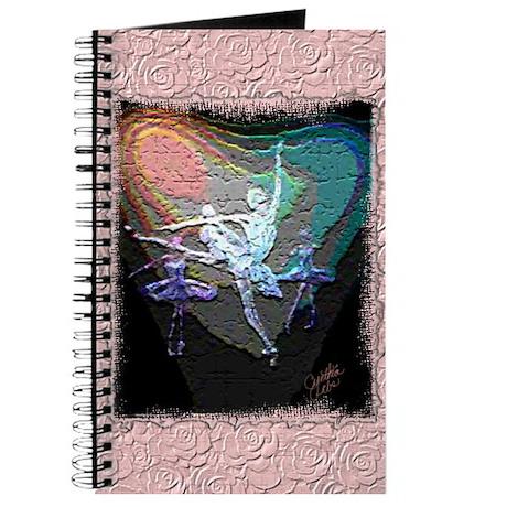 Textured Ballerina Trio Journal
