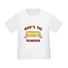 World's Best Teacher (Thumbs Up) T