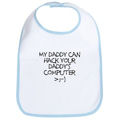 Hacker Daddy Bib