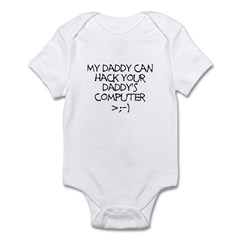 Hacker Daddy Infant Bodysuit