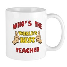 World's Best Teacher (Thumbs Up) Mug