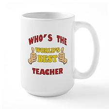 World's Best Teacher (Thumbs Up) Mug