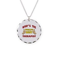 World's Best Therapist (Thumbs Up) Necklace
