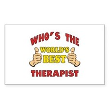 World's Best Therapist (Thumbs Up) Decal