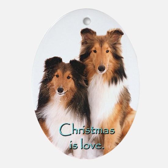 Sheltie Christmas Is Ornament