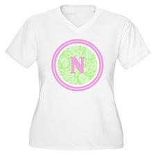 Lime Paisley Mono T-Shirt