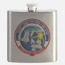 STS-41B Challenger Flask