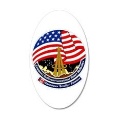 STS-41B Challenger Wall Decal