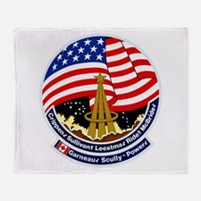 STS-41B Challenger Throw Blanket
