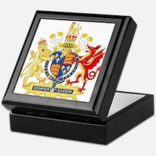 Elizabeth I Coat of Arms Keepsake Box