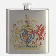 Elizabeth I Coat of Arms Flask