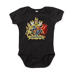 Elizabeth I Coat of Arms Baby Bodysuit