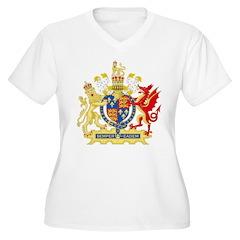 Elizabeth I Coat of Arms Plus Size T-Shirt