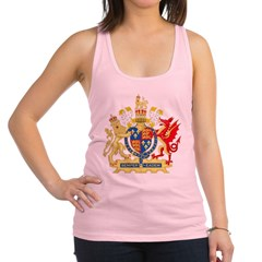 Elizabeth I Coat of Arms Racerback Tank Top