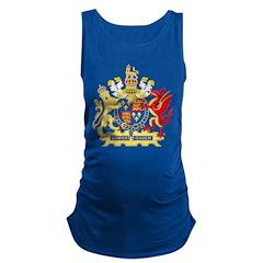 Elizabeth I Coat of Arms Maternity Tank Top