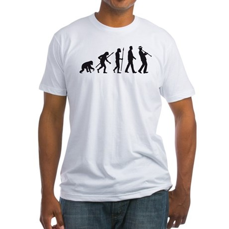 evolution of man clarinet player T-Shirt