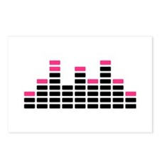 Equalizer mixing console Postcards (Package of 8)