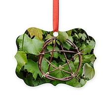 Grapevine Pentacle Ornament