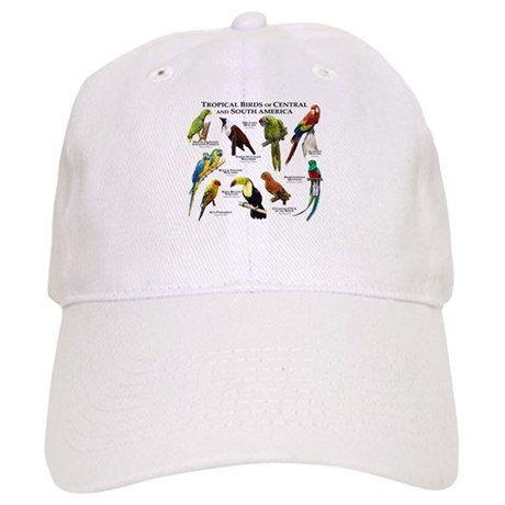 Tropical Birds of Central and South America Cap