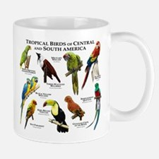Tropical Birds of Central and South America Mug