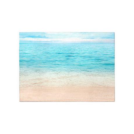 Beautiful Beach 5u0027x7u0027Area Rug