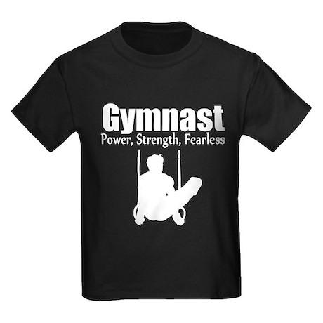 GYMNAST STRENGTH Kids Dark T-Shirt