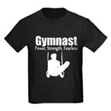 Boys gymnastics Kids T-shirts (Dark)
