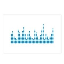 Equalizer music Postcards (Package of 8)