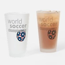 world soccer championship Drinking Glass