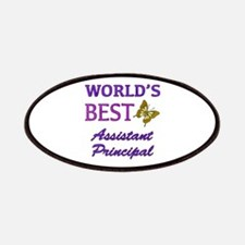 World's Best Assistant Principal (Butterfly) Patch