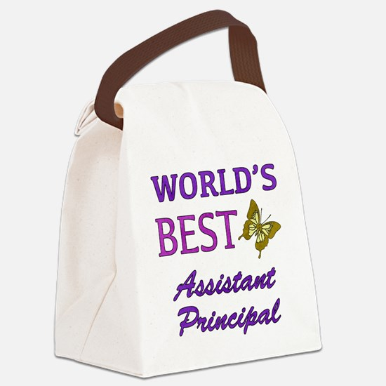 World's Best Assistant Principal (Butterfly) Canva