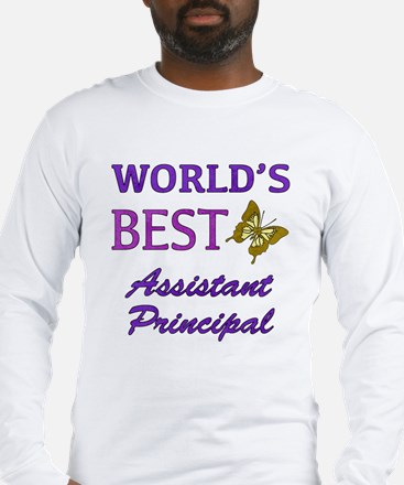 World's Best Assistant Principal (Butterfly) Long