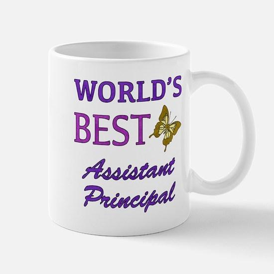 World's Best Assistant Principal (Butterfly) Mug