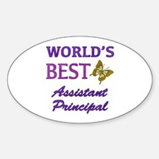 World's Best Assistant Principal (Butterfly) Stick