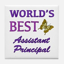 World's Best Assistant Principal (Butterfly) Tile