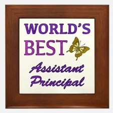World's Best Assistant Principal (Butterfly) Frame