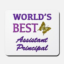 World's Best Assistant Principal (Butterfly) Mouse